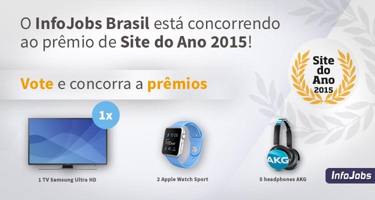 InfoJobs Brasil é indicado ao prêmio de Site do Ano